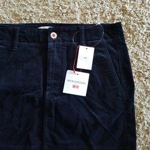 b596634f98 UNIQLO Skirts | Idlf Ines De La Fressange Corduroy Skirt | Poshmark